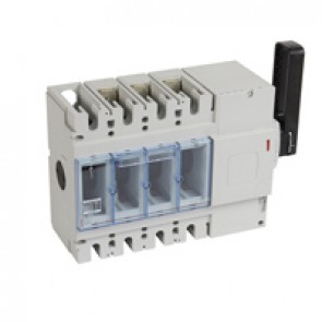 Isolating switch - DPX-IS 630 with release - 3P - 630 A - right-hand side handle