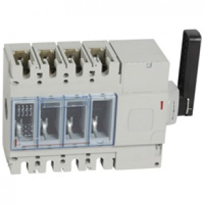 Isolating switch - DPX-IS 630 with release - 4P - 400 A - right-hand side handle