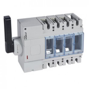 Isolating switch - DPX-IS 630 with release - 3P - 400 A - left-hand side handle