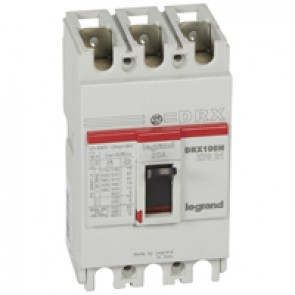 MCCB - DRX 125 - thermal magnetic - Icu 20 kA - 415 V~ - 3P - In 20 A