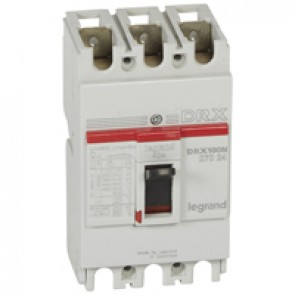 MCCB - DRX 125 - thermal magnetic - Icu 20 kA - 415 V~ - 3P - In 40 A