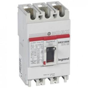 MCCB - DRX 125 - thermal magnetic - Icu 20 kA - 415 V~ - 3P - In 50 A