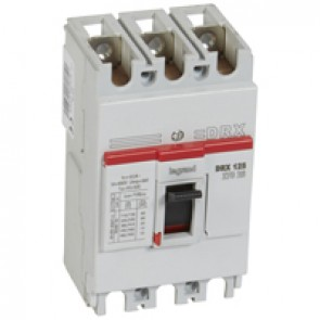 MCCB - DRX 125 - thermal magnetic - Icu 20 kA - 415 V~ - 3P - In 60 A