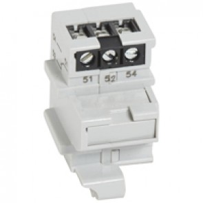 Auxiliary contact block - for DRX - with 1 alarm