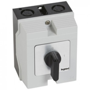 Cam switch - on/off switch - PR 21 - 3P - 25 A - 3 contacts - box 96x120 mm