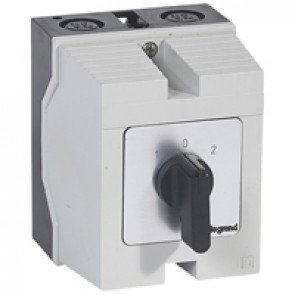 Cam switch - changeover switch with off - PR 12 - 4P - 16 A - box 96x120 mm