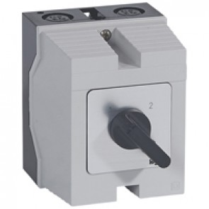 Cam switch - changeover switch without off - PR 12 - 4P - 16 A - box 96x120 mm