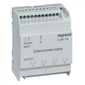 Power supply - external 230 V AC - for DMX³ 1600 electronic protection units