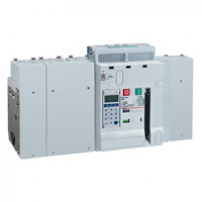 Air circuit breaker DMX³ 6300 lcu 100 kA - fixed version - 4P - 5000 A