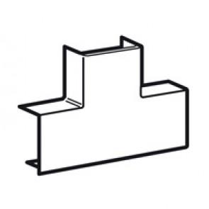 Flat T junction - for DLPlus mini-trunking 40x20 - white