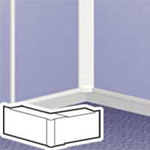 Changeable internal/external angle - for DLPlus mini-trunking 20x12.5 - white