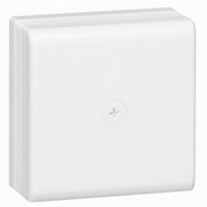 Junction box - 75x75x35 mm - for DLPlus mini-trunking - white