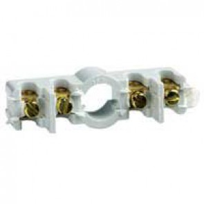 Strip with 4 terminals for junctions 4 mm² - for Plexo boxes 92100/01/92104/26/27