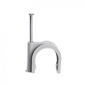 Cable clip Fixfor - for concrete materials - for cable Ø 14 mm - grey