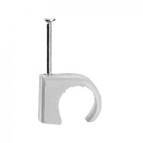 Cable clip Multifix - for concrete materials - for cable Ø 7 to 10 mm - grey