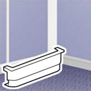 Adaptor - for mounting Mosaic frame 316 14/22 alongside mini-trunking h 12.5