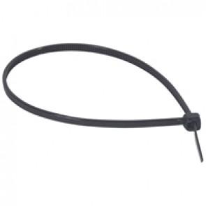 Cable tie Colring - width 2.4 mm - L. 180 mm - sachet 100 pcs - black
