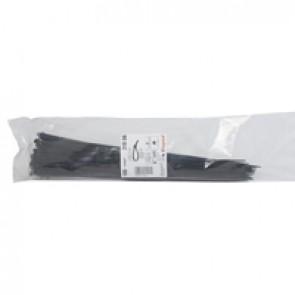 Cable tie Colring - width 3.5 mm - L. 360 mm - sachet 100 pcs - black