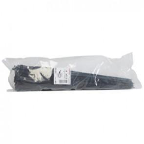 Cable tie Colring - width 7.6 mm - L. 550 mm - sachet 100 pcs - black