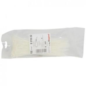 Cable tie Colring - width 2.4 mm - L 180 mm - sachet 100 pcs - colourless