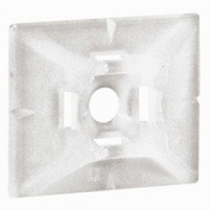 Base - for Colring cable ties max. width 4.6 mm - self-adhesive - colourless