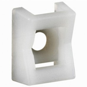 Base - for Colring cable ties max. width 9 mm - screw mounting