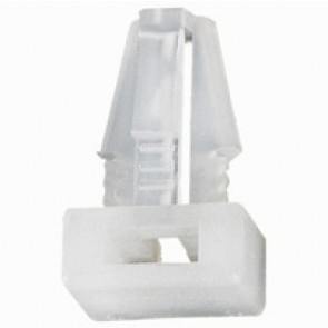Base - for Colring cable ties max width 4.6 mm - clip-on