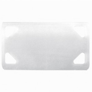 Identification plate - for Colring cable ties max. width 4.6 mm - colourless