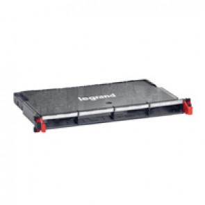 "LCS³ 19"" modular optic drawer - sliding - to be equipped with fibre optic blocks - 4 blocks maximum"