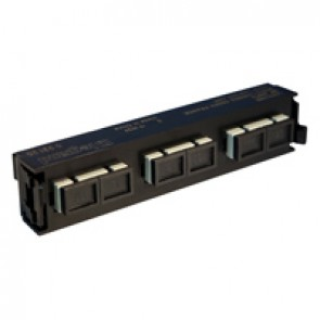 LCS³ fibre optic block - multimode fibre optic block - SC duplex block for 6 multimode fibre optics