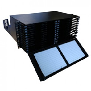 LCS³ ultra high density modular fibre optic drawer with front facing cord management - 4U - to be equipped with cassette