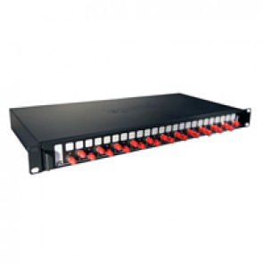 "LCS³ equipped 19"" optic drawer - sliding - 24 ST multimode connectors for 48 fibres"