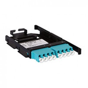 LCS³ LC adaptor for 8-fibre Ultra High Density installation - LC multimode