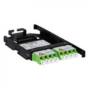 LCS³ LC adaptor for 8-fibre Ultra High Density installation - APC LC single-mode