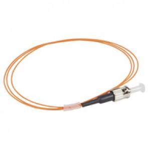 LCS³ pigtail - 50/125µm - OM2 PC - ST 1 m LSZH connectors