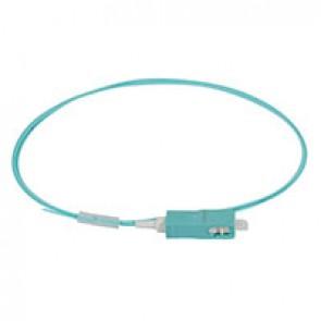 LCS³ pigtail - 50/125µm - OM4 PC - SC 1 m LSZH connectors