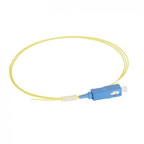LCS³ pigtail - 9/125µm - OS2 APC or UPC - OS1 compatible - SC-UPC OS2 1 m LSZH connectors