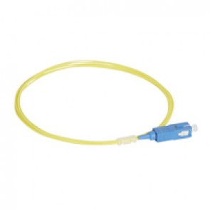 LCS³ pigtail - 9/125µm - OS2 APC or UPC - OS1 compatible - SC-UPC OS2 2 m LSZH connectors