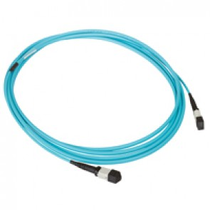 LCS³ high density preterminated fibre optic link - OM3 MTP - 12 fibre optics - MTP-MTP - length 40 m