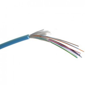Fibre cable - OM 3 - 900 μm tight buffer - indoor/outdoor - 12 fibres