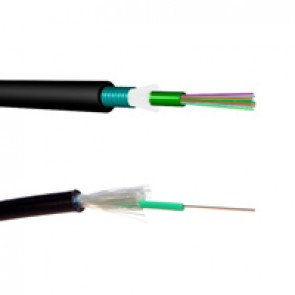LCS³ OS2 single-mode fibre optic cables - loose tube - outdoor - corrugated steel tape - 4 fibres - 2000 m