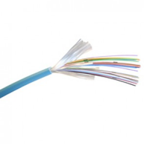 Fibre cable - OM 3 - 900 μm tight buffer - indoor/outdoor - 24 fibres