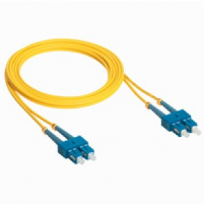 Patch cord fibre optic - OS 1 singlemodules (9/125 μm) - SC/SC duplex - 1 m