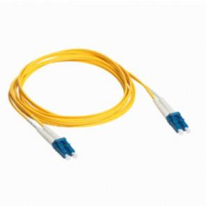 Patch cord fibre optic - OS 1 singlemodules (9/125 μm) - LC/LC duplex - 1 m