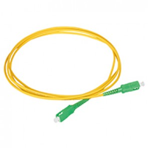 Internal optical SC/APC simplex cord - 2 m