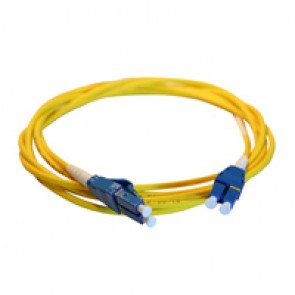 Patch cord fibre optic LCS³ - OS1/OS2 single-mode - LC/LC Uniboot duplex - reversible polarity - 2 m