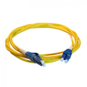 Patch cord fibre optic LCS³ - OS1/OS2 single-mode - LC/LC Uniboot duplex - reversible polarity - 3 m