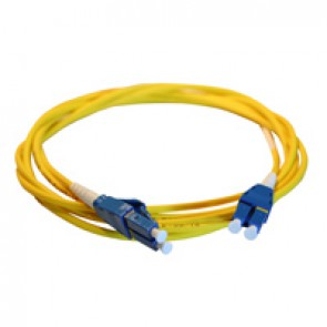 Patch cord fibre optic LCS³ - OS1/OS2 single-mode - LC/LC Uniboot duplex - reversible polarity - 10 m