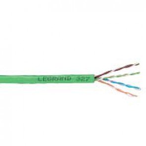 Lan cable - category 5e - U/UTP - 4 pairs - L. 305 m - PVC sleeve