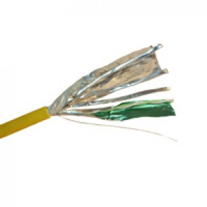 Cable for local networks LCS³ - category 6 A - F/FTP - 4 pairs - 500 m